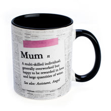 Load image into Gallery viewer, Mum Definition Coffee Mug