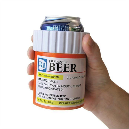 Prescription Beer Stubby Coolers