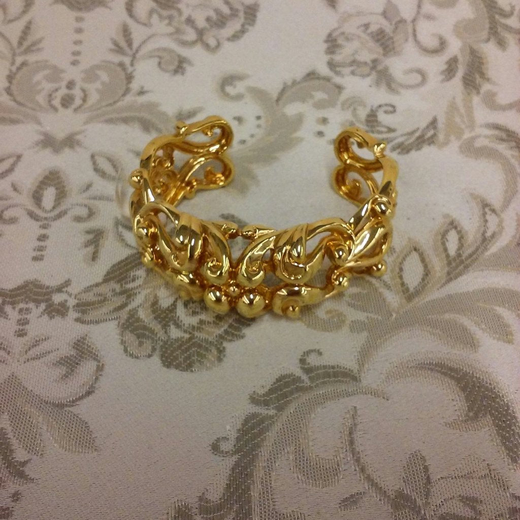 RACHEL ZOE QVC 12K YELLOW GOLD PLATED BRACELET