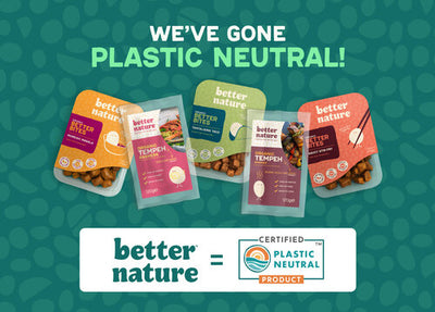 WE'RE NOW PLASTIC NEUTRAL!