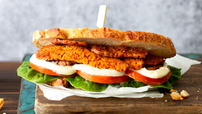 TEMPEH BLT WITH SPICY MAYO