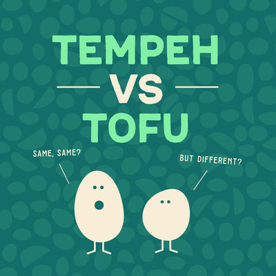 TEMPEH VS TOFU - FRIENDS NOT TWINS