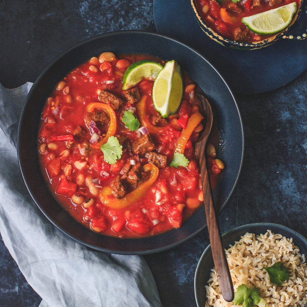 MEXICAN TEMPEH STEW