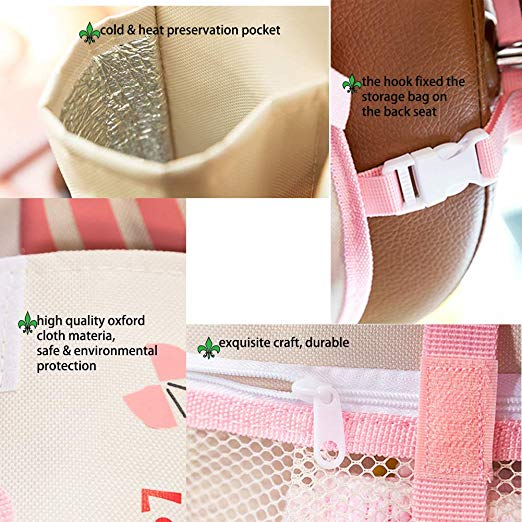 Smart Travel Organiser Pink