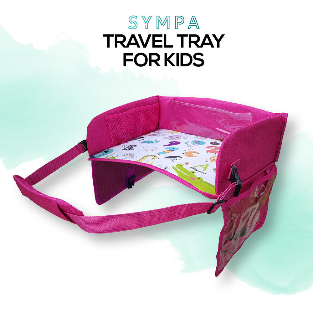 Smart Travel Tray Pink