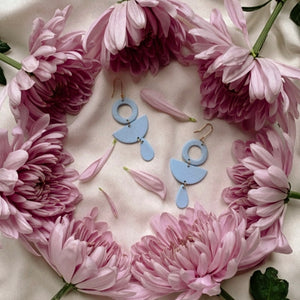 Bluish Gordanna Earrings