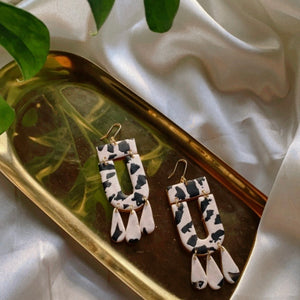 Cow Zephyr Earrings