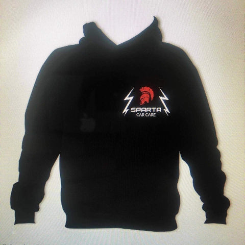 Sparta Car Care Hoodie Black - sparta-car-care