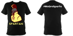 Sparta T-Shirt Black - Spartan Yellow - sparta-car-care