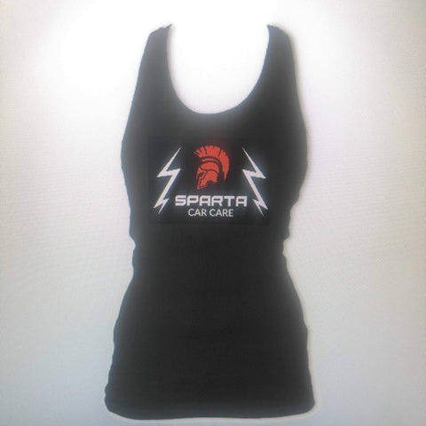 Sparta Car Care Ladies Vest Black - sparta-car-care