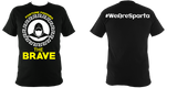Sparta T-Shirt Black - Fortune Favours the Brave - sparta-car-care