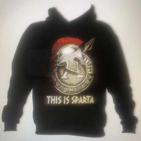 Sparta Car Care This is Sparta Hoodie Black - sparta-car-care