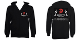 Sparta Car Care Zip Hoodie Black - sparta-car-care