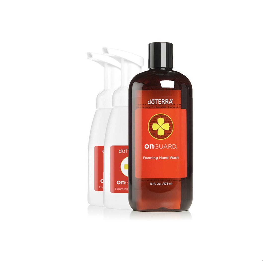 On Guard® Foaming Handwash with 2 Dispensers