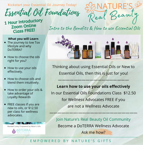 DoTERRA | Essential Oil Foundations Class