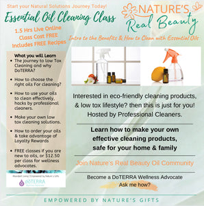 DoTERRA | Essential Oils Cleaning Workshop