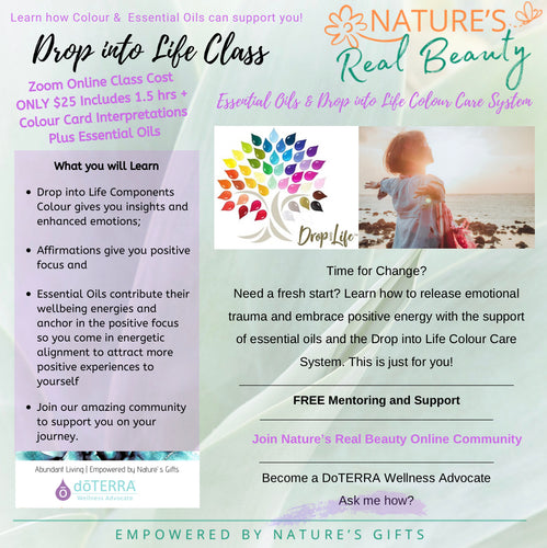 DoTERRA | Essential Oil 'Drop Into Life' Colour Psychology Class