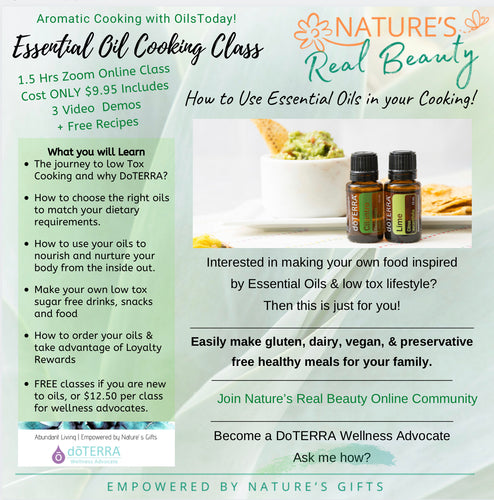 DoTERRA | Essential Oil Cooking Class