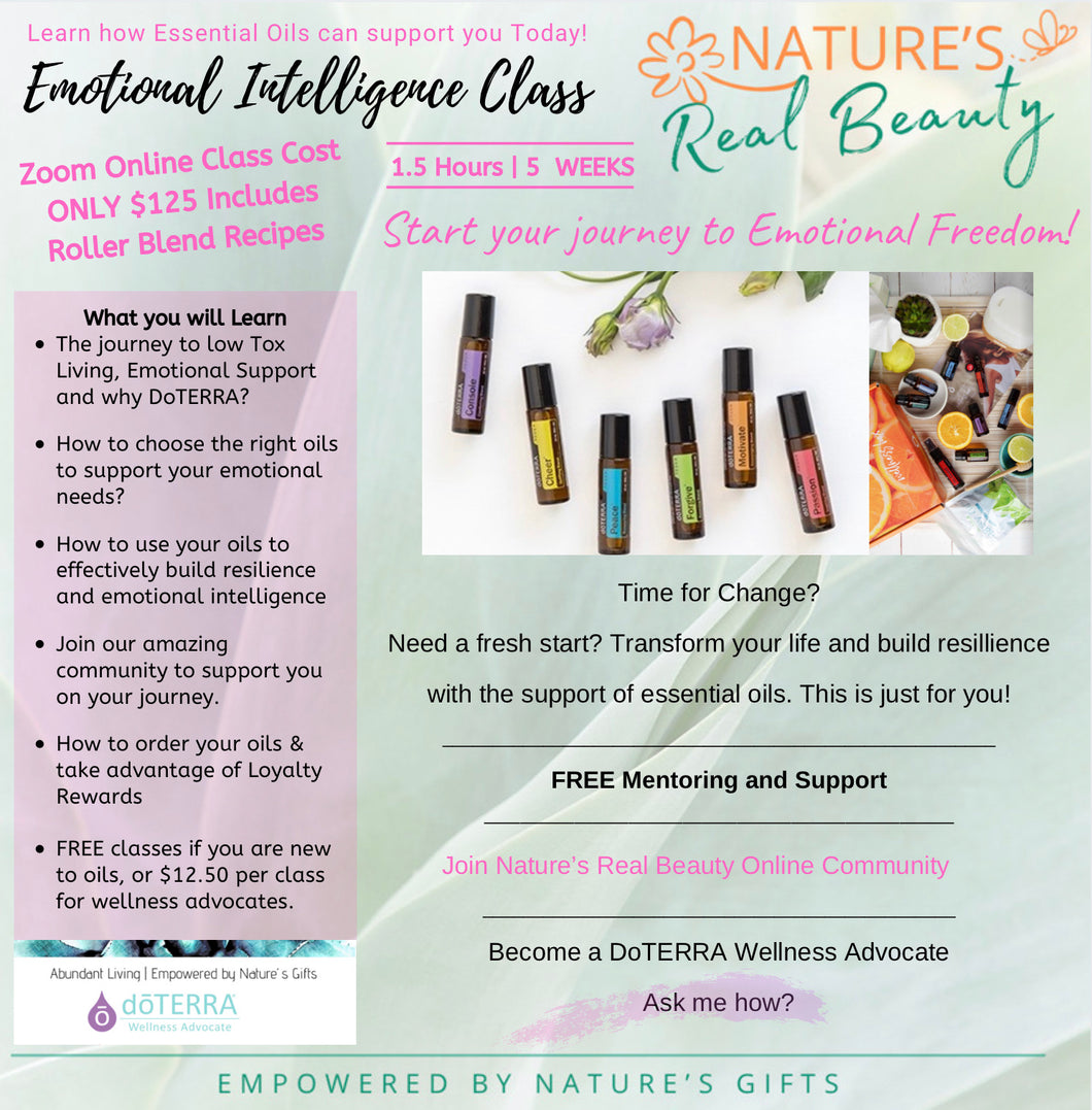 DoTERRA | Essential Oil Emotional Intelligence Class