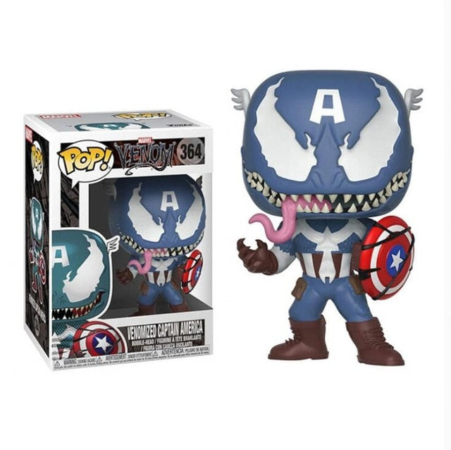 Venomized Captain America