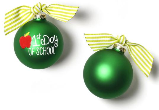 1st Day of School Ornament