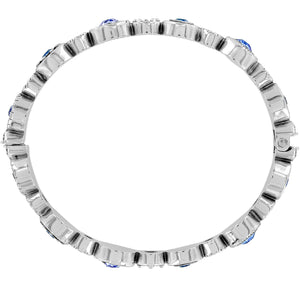 Halo Burst Hinged Bangle