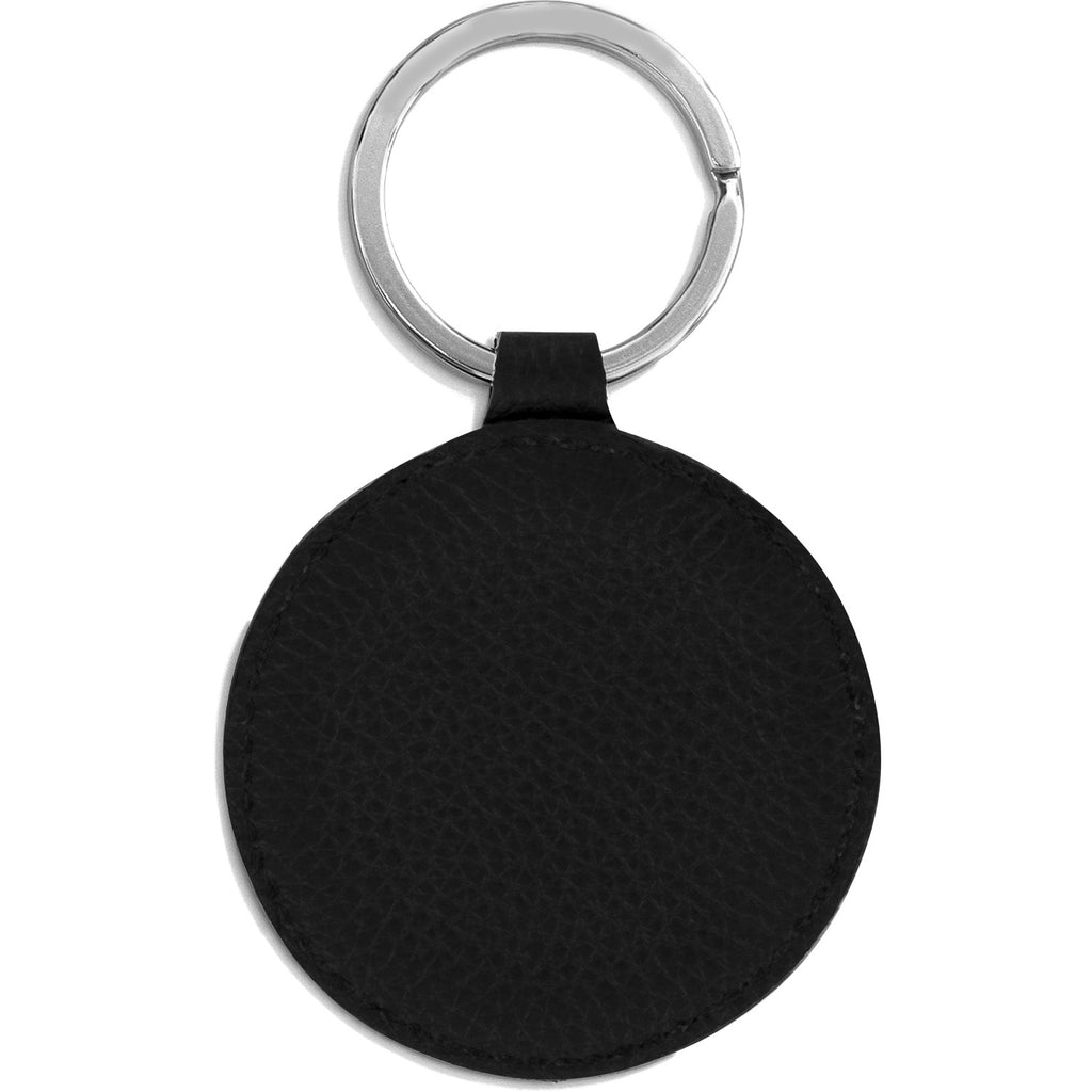 Ferrara Leather Key Fob BLACK