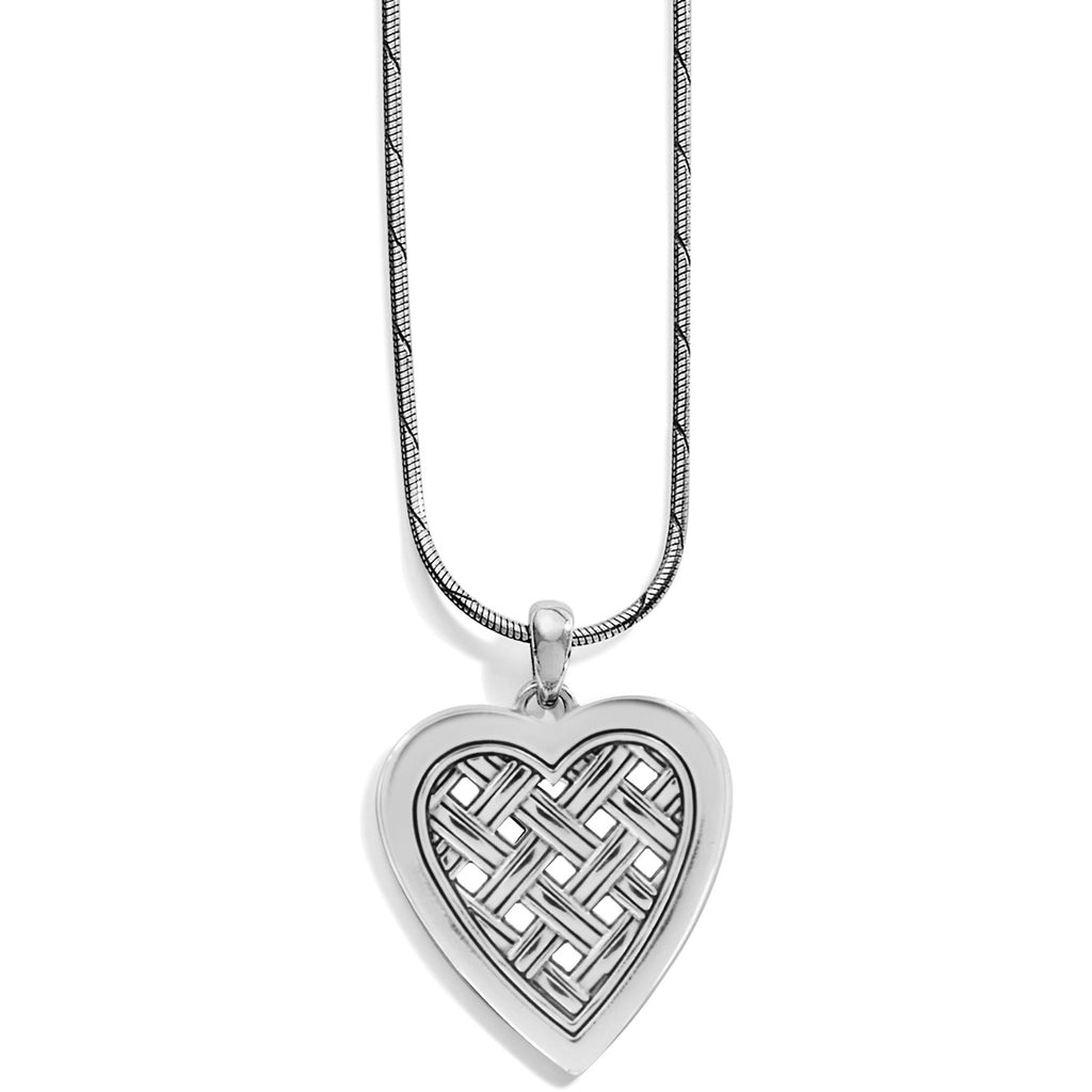 Love Cage Heart Short Necklace