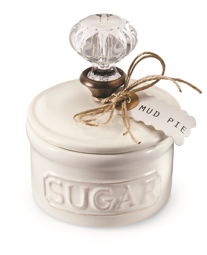 Door Knob Sugar Bowl Mudpie
