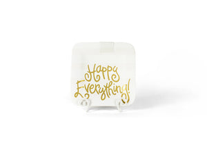 White Stripe Happy Everything!™ Mini Platter