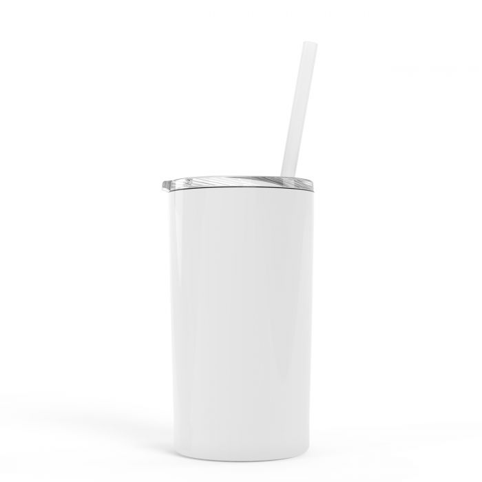 Skinny Mini Tumbler-WHITE