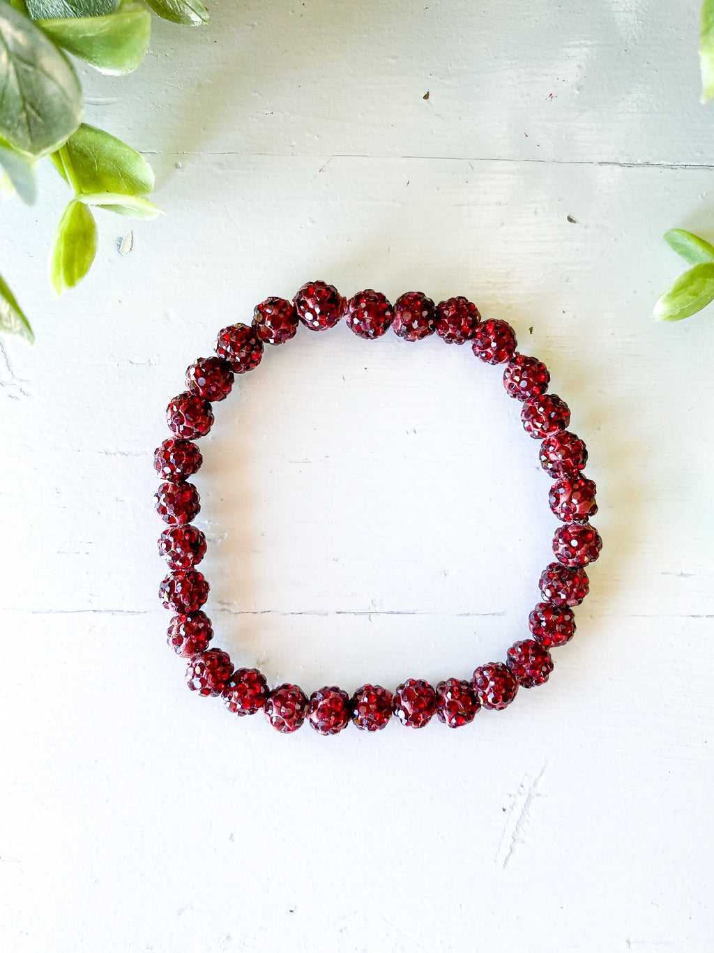 Wine Bling Stretch Bracelet