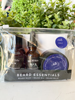 No 68 Cobalt Beard Essentials Gift Set