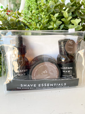 No 95 Timber Shave Essentials Gift Set