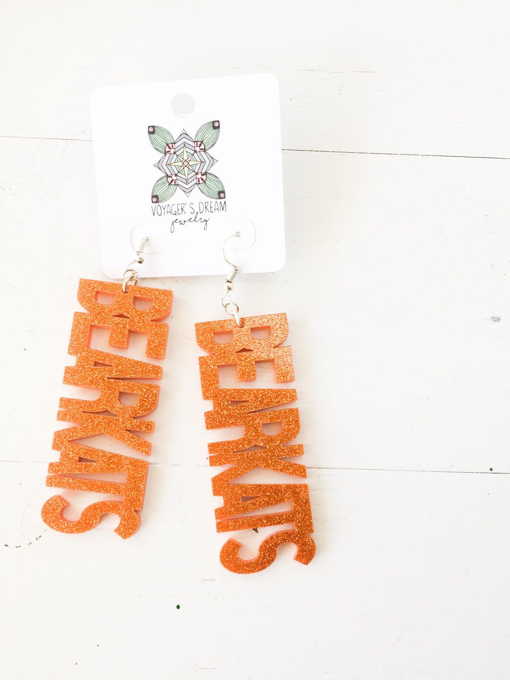 Bearkats Earrings