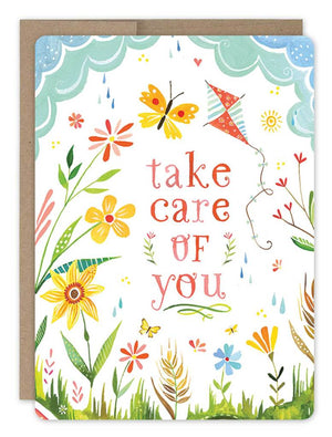 Care of You - Get Well Card