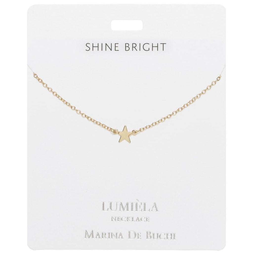 Shine Bright Star Charm Necklace, 20""