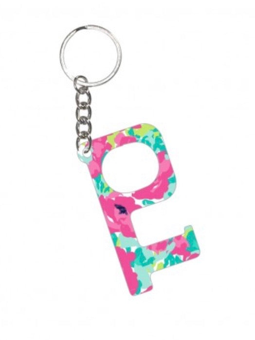 Floral Hands-Free Keychain