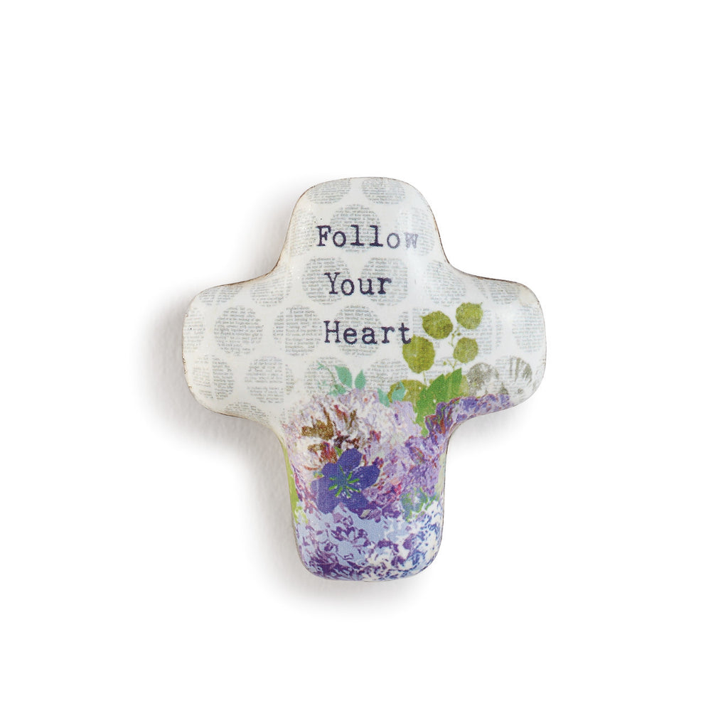Follow Your Heart Artful Cross Token