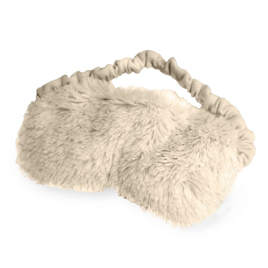 Warmies® Plush Eye Mask CREAM