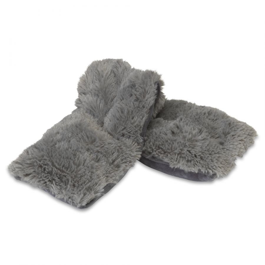Warmies Plush Wrap- GRAY