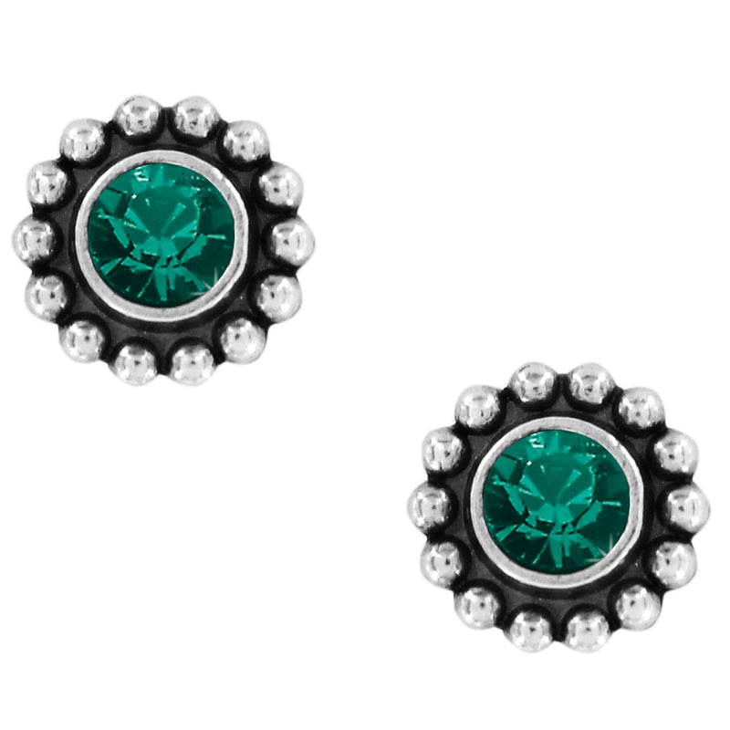 Twinkle Mini Post Earrings EMERALD