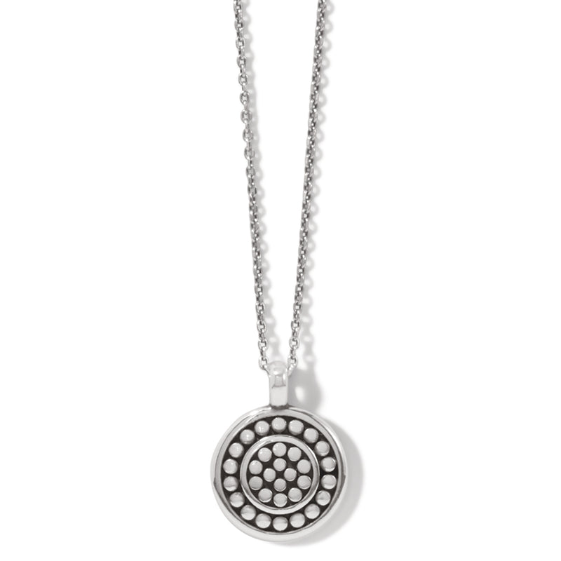 Pebble Round Reversible Petite Necklace
