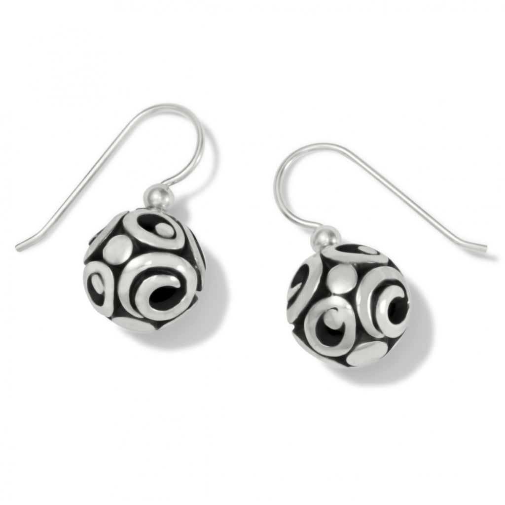 Contempo Sphere French Wire Earrings