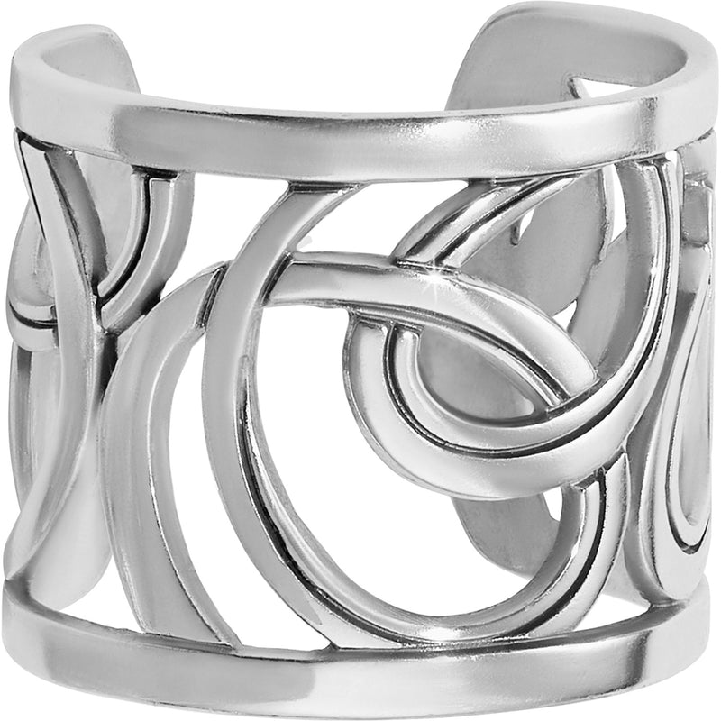 Christo Vienna Wide Ring SILVER