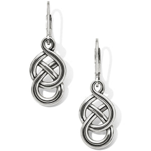 Interlok Braid Petite Leverback Earrings