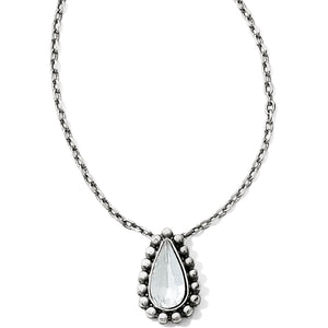 Twinkle Teardrop Reversible Necklace