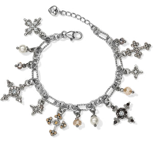 Crosses Of The World Charm Bracelet