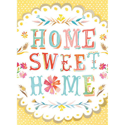 Home Sweet, New Home Greeting Card