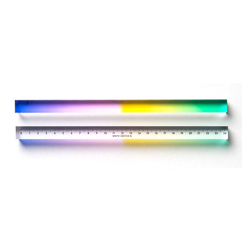 ruler regla papelería stationery estampado pattern design milan italy write sketch & colours colors colores color arcoíris rainbow